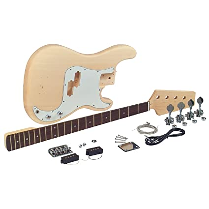 amazon com saga pb 10 electric bass kit p style musical instruments rh amazon com Telecaster Wiring 5-Way Switch Squier Telecaster Wiring-Diagram