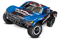 Traxxas Slash 1/10-Scale 2WD Short Course Racing Truck with TQ 2.4GHz Radio and OBA - best gifts for 8 year old boys