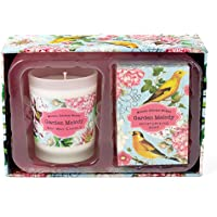 Michel Design Works Garden Melody Candle and Soap Gift Set, Garden Melody