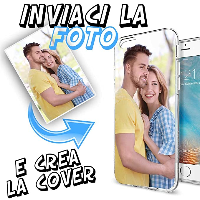 5 opinioni per Cover Custodia Personalizzata con Foto o Scritta a Piacere per iPhone 7