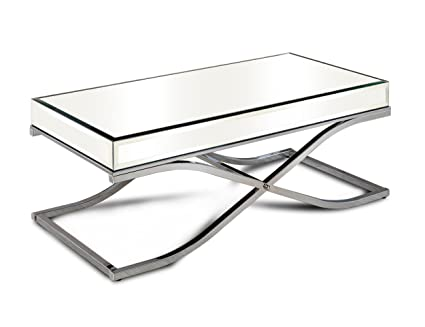Attrayant Furniture Of America Aubrine X Frame Coffee Table