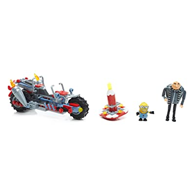 Mega Construx Despicable Me 3 Gru's Water Motorcycle Building Set: Toys & Games