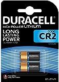 Duracell CR15H270 Baterías de litio CR2 3V de alta potencia, paquete de 2, diseñado para su uso en sensores, cerraduras sin llave, flash y linternas