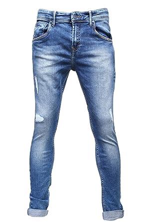 364521ff2218 Pepe Jeans - Jeans Enfant Hero Pb200499 Denim - Couleur Bleu - Taille 18 ans
