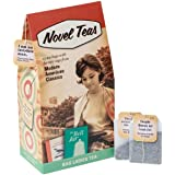 Novel Teas - Modern American Classics contains 25 teabags individually tagged with literary quotes from the world over, made