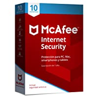 McAfee Internet Security 10 Dispositivos 2018
