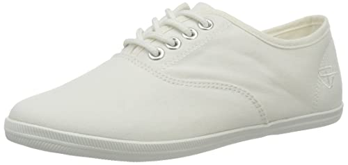 23609, Sneakers Basses Femme, Blanc (White), 40 EUTamaris