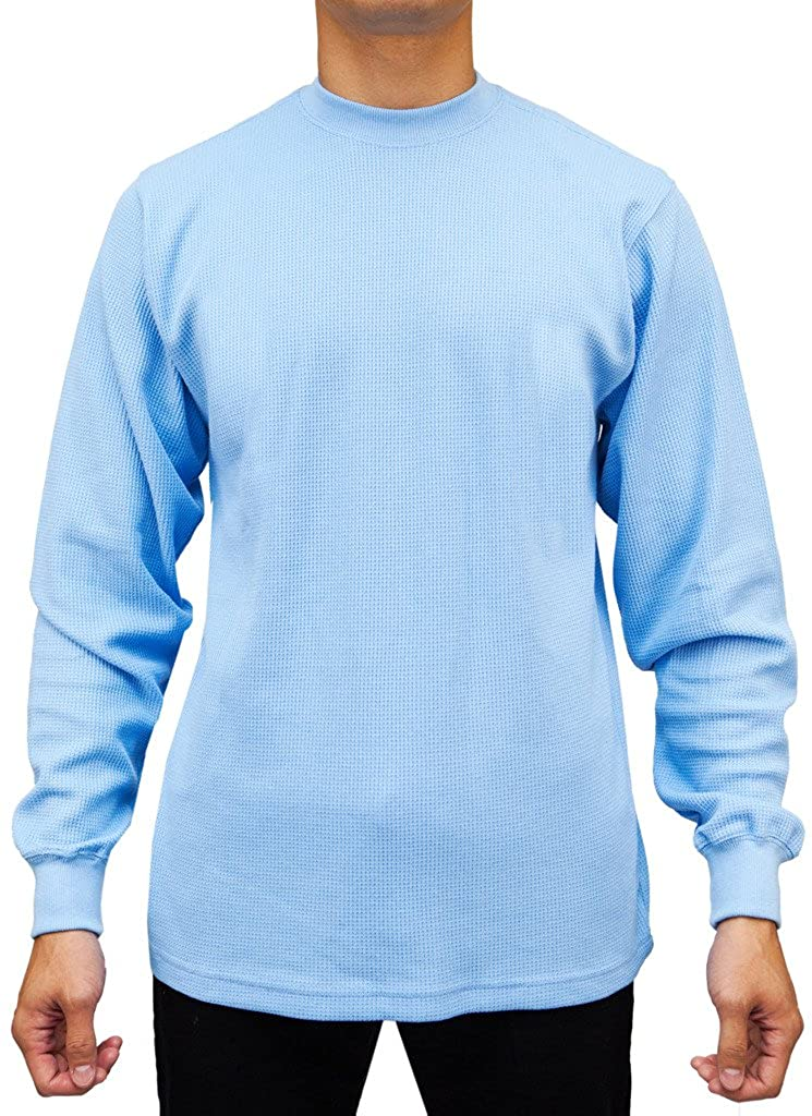 Access Mens Heavyweight Long Sleeve Thermal Crew Neck Top AT11