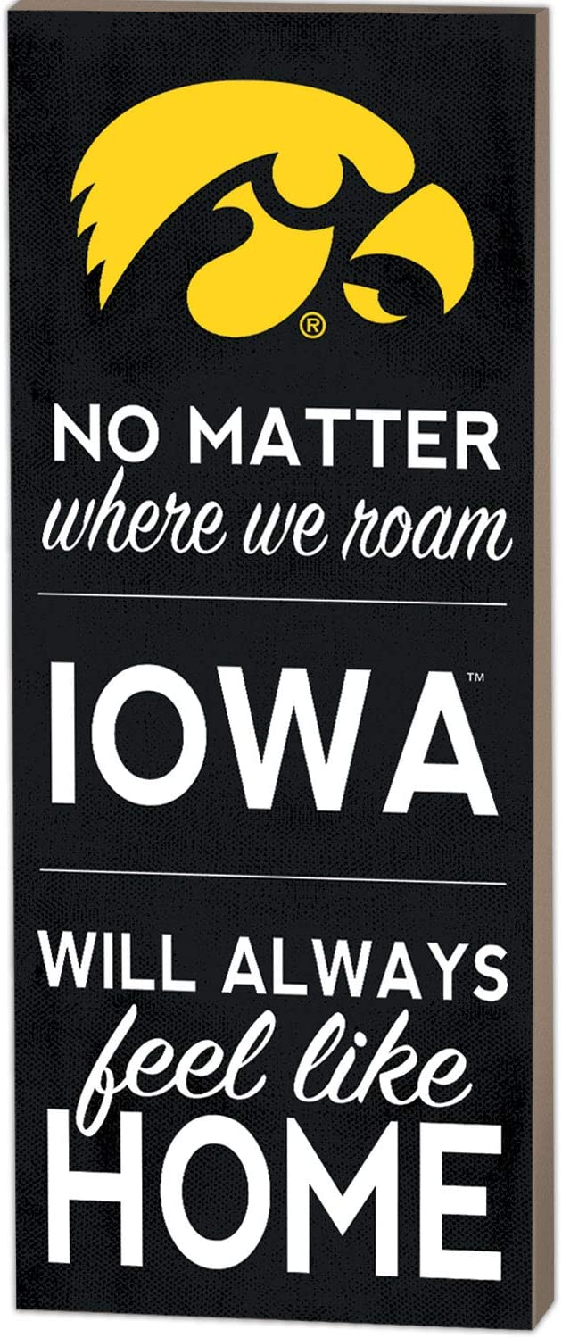 KH Sports Fan 7x18 No Matter Where Iowa Hawkeyes