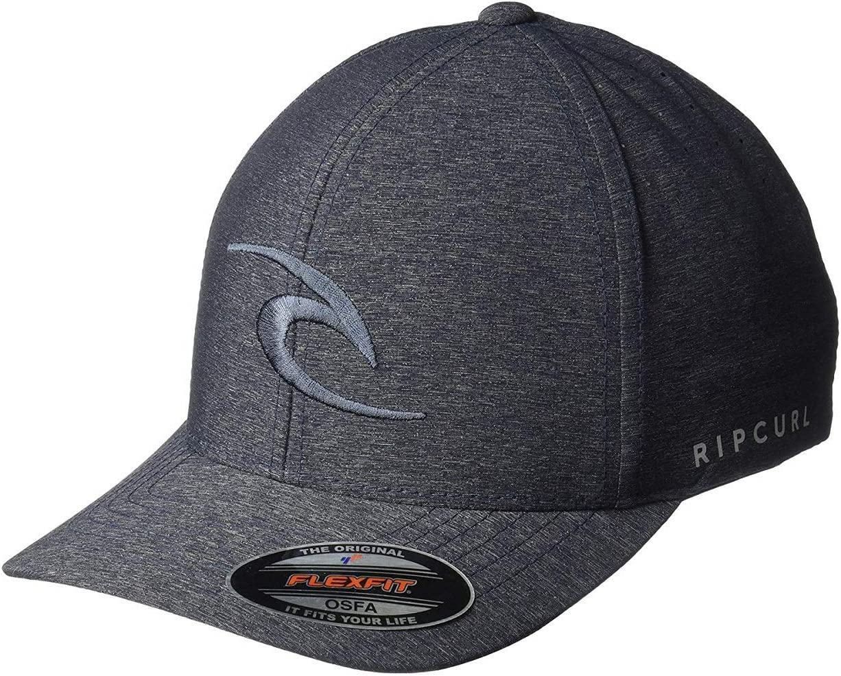 RIP CURL Gorra Phase Icon Curve Black CCAOA1 0090: Amazon.es ...