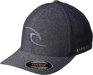 RIP CURL Gorra Phase Icon Curve Black CCAOA1 0090: Amazon.es ...
