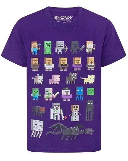 Minecraft Camiseta para niño