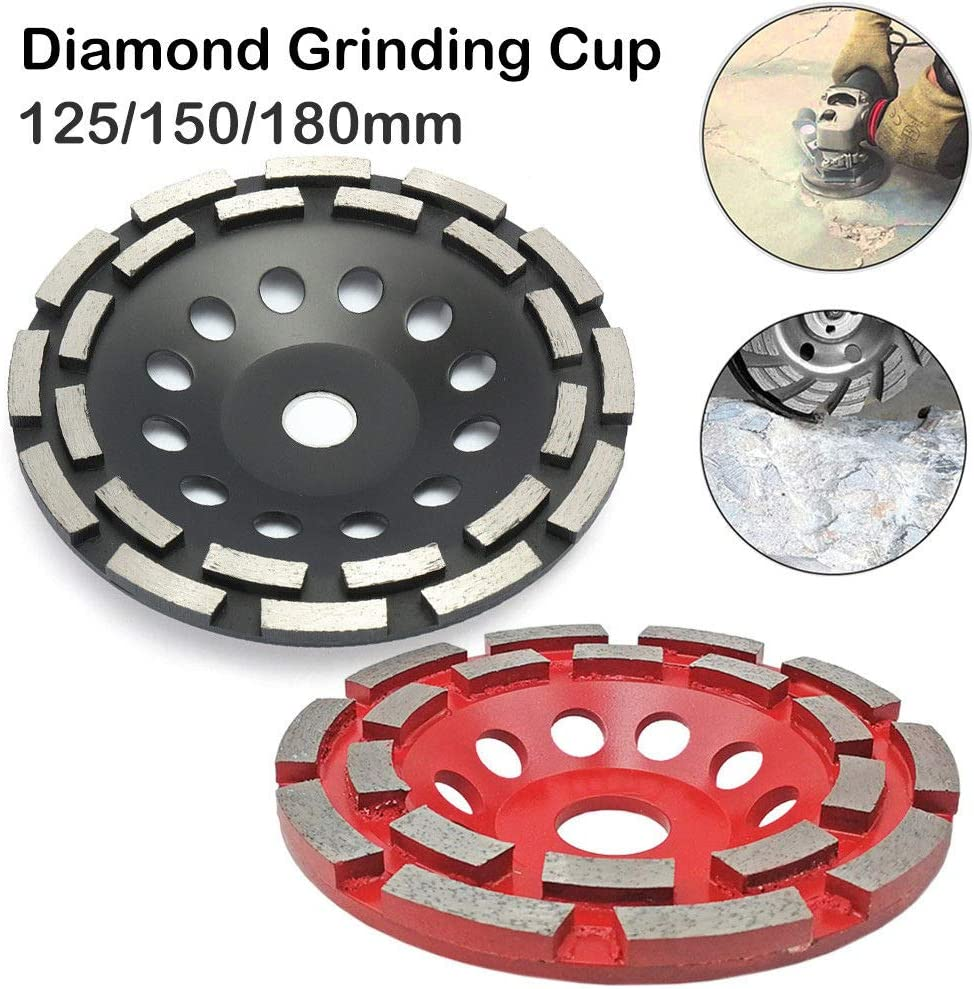 para hormig/ón Herramienta de corte de m/ármol de granito con disco de diamante Diamond Cup Wheel MASO m/ármol granito piedra natural universal rojo mamposter/ía doble fila