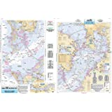 Inshore Tampa Bay, FL - Laminated Nautical Navigation & Fishing Chart by Captain Segull's Nautical Sportfishing Charts | Char