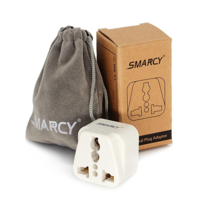 SMARCY/® Adaptateur Prise de Voyage pour Hongkong UK Angleterre et Irlande