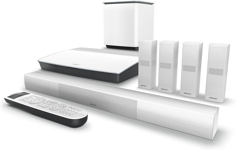 Equipo de Home Cinema 5.1 Bose/® Acoustimass/® 10 Series V blanco