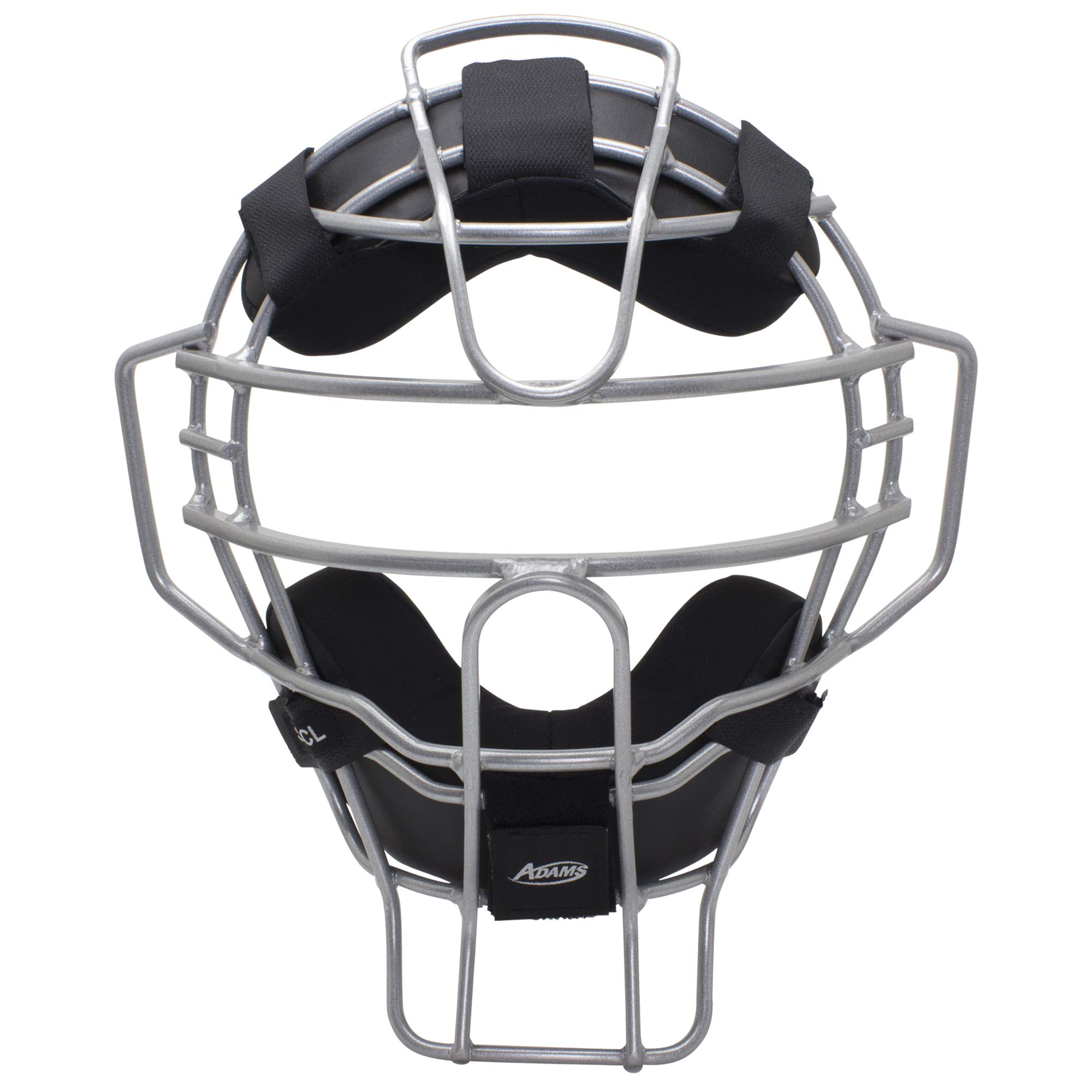 Adams Comfort-Lite Baseball and Softball Umpire and Catcher's Mask, Silver by Adams