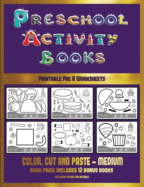 Printable Pre K Worksheets (Preschool Activity Books ...