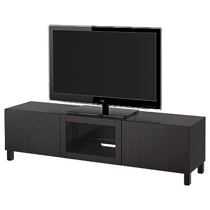 Mobile Porta Tv Vetro Ikea.Ikea Besta Mobile Porta Tv Con Cassetti E Anta Lappviken