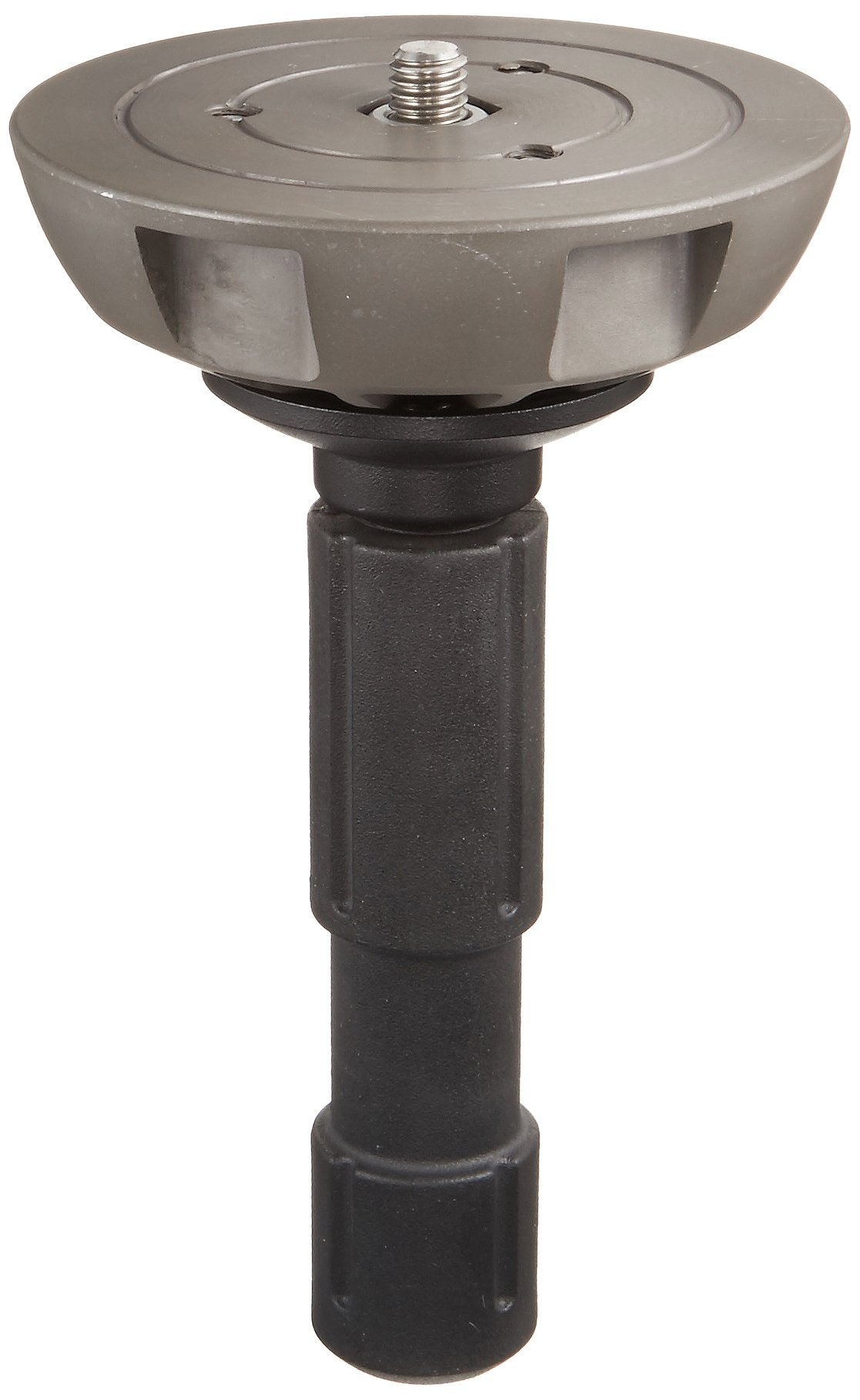 Manfrotto 500BALL 100mm Half Ball Leveler with 3/8-Inch Screw for 100mm Bowl Tripods - Replaces 3141BALL (Black)