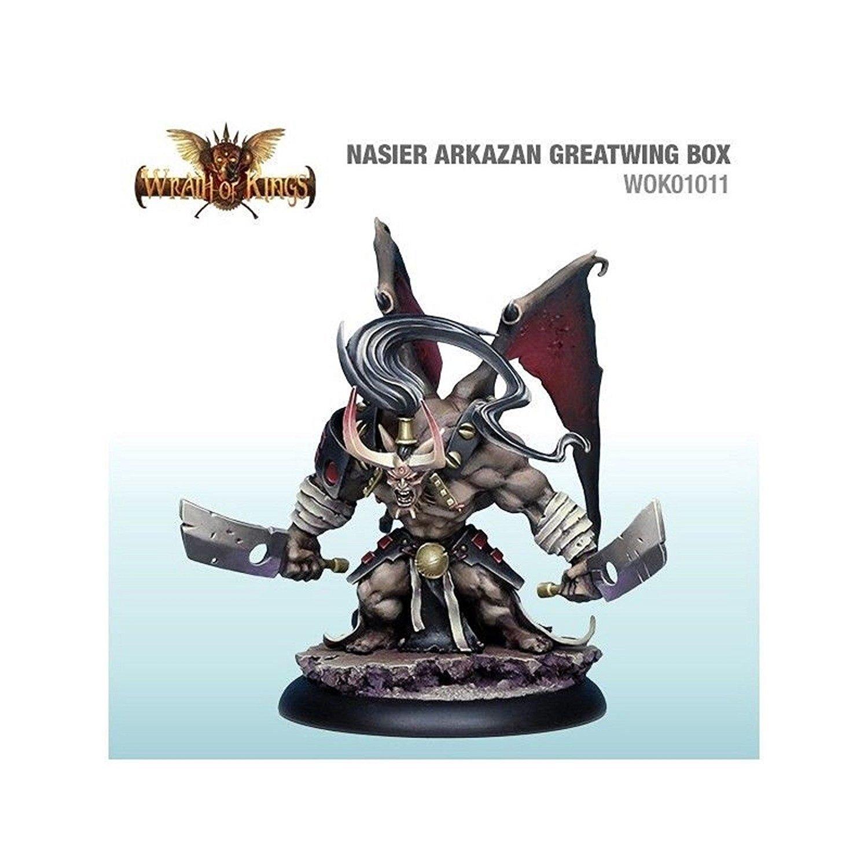 Wrath Of Kings - Nasier: Arkizan Greatwing Box - CMNWOK01011 Cool Mini or Not COMIN18JU032040