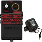Boss RC-1-BK Loop Station - Limited Edition Black with Power Supply