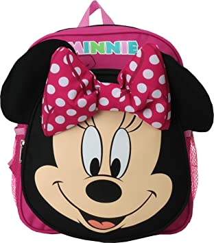 3c2daee6316 Amazon.com   Disney Minnie Mouse 12 inches Toddler Small Backpack   Kids   Backpacks
