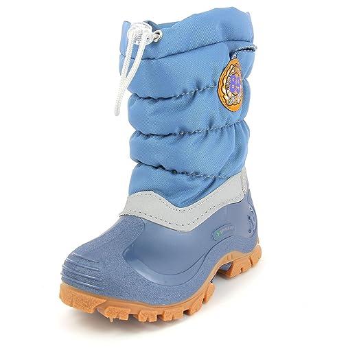 SpiraleERIC - botas de nieve niños, color azul, talla 20