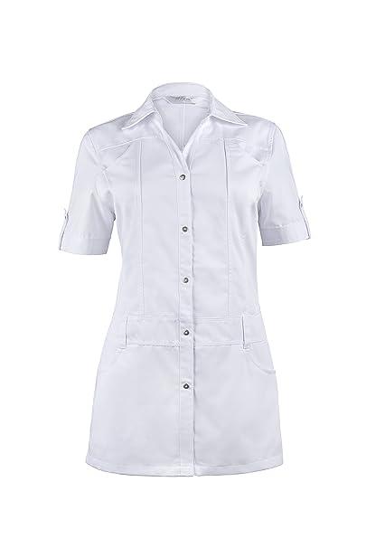 HIZA - Bata de laboratorio - Mujer blanco 46