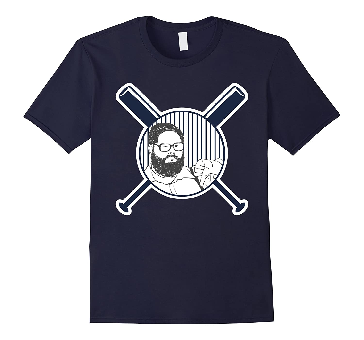 Thumbs Down Shirt Featuring Baseball's Thumbs Down Guy-T-Shirt