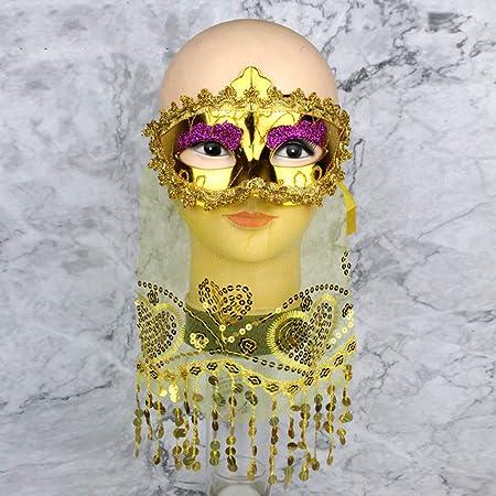 Máscaras venecianas máscara de Navidad para Halloween, disfraz de ...