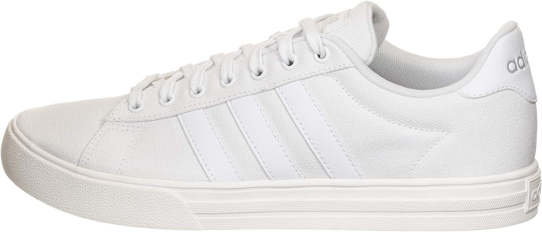 Adidas Herren Daily 2.0 Sneaker Footwear White Footwear White Grey