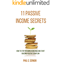 11 Passive Income Secrets: How To Stop Dreaming Being Rich And Start Building Positive Cashflow