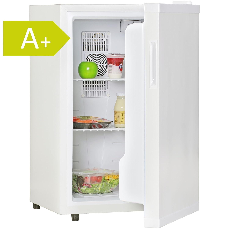 Amstyle Minikühlschrank 65 Liter Minibar Weiß freistehender Mini ...