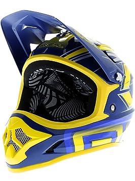ONeal Fury Fidlock Evo - Cascos integrales - azul Contorno de la cabeza 61-62