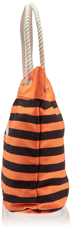 FOCO NCAA Unisex Nautical Stripe Tote Bag
