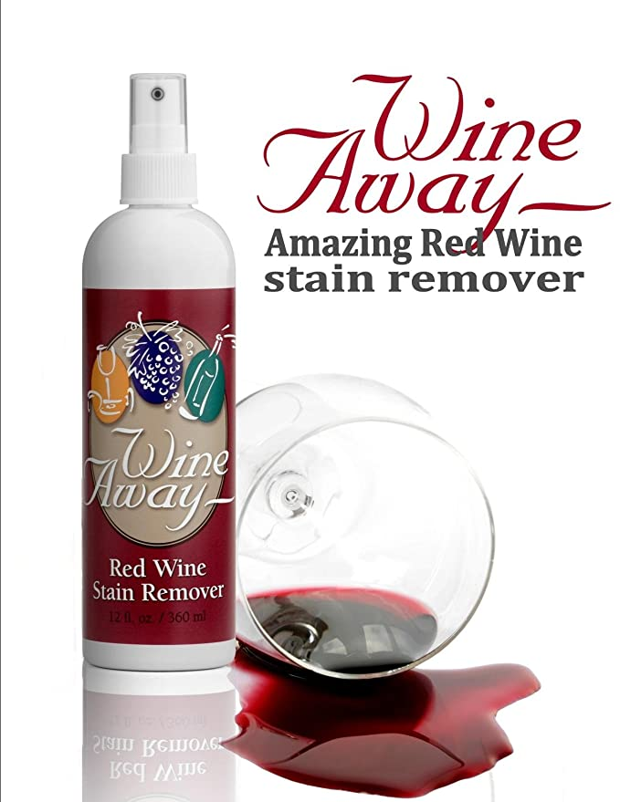 Wine Away - Quitamanchas en recipiente de plástico (360 ml): Amazon.es: Hogar