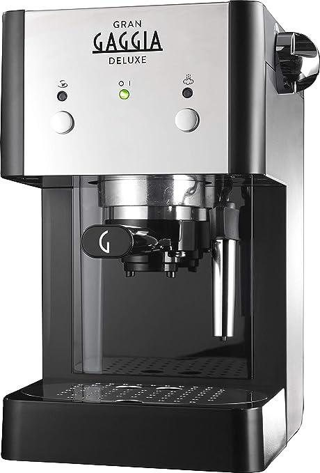 Gaggia RI8425/11 - Cafetera (Independiente, Máquina espresso, 1 L, De café molido, 950 W, Negro, Plata): Amazon.es: Hogar