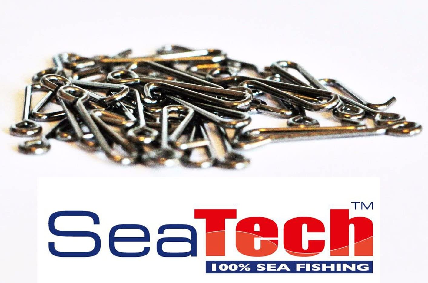 LEAD LINK CLIPS LINK-RIG CLIPS complete with SWIVELS SEA FISHING RIGS