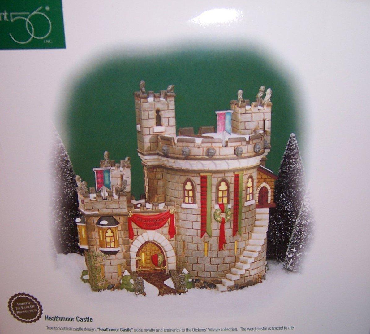 Department 56 ''Heathmoor Castle'' Dickens Village