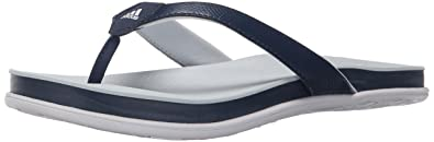 adidas Performance Women's Supercloud Plus Thong W Athletic Sandal,BlueHalo BlueWhite