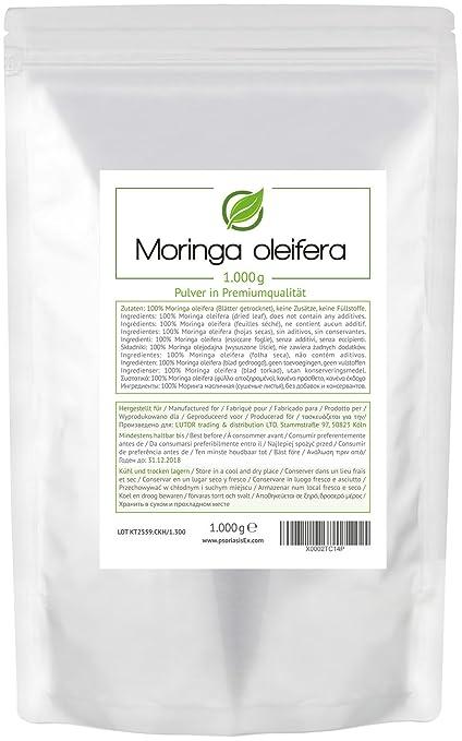 7 opinioni per MORINGA (Moringa oleifera) 1.000 grammi (1 kg) in sacchetto salva aroma