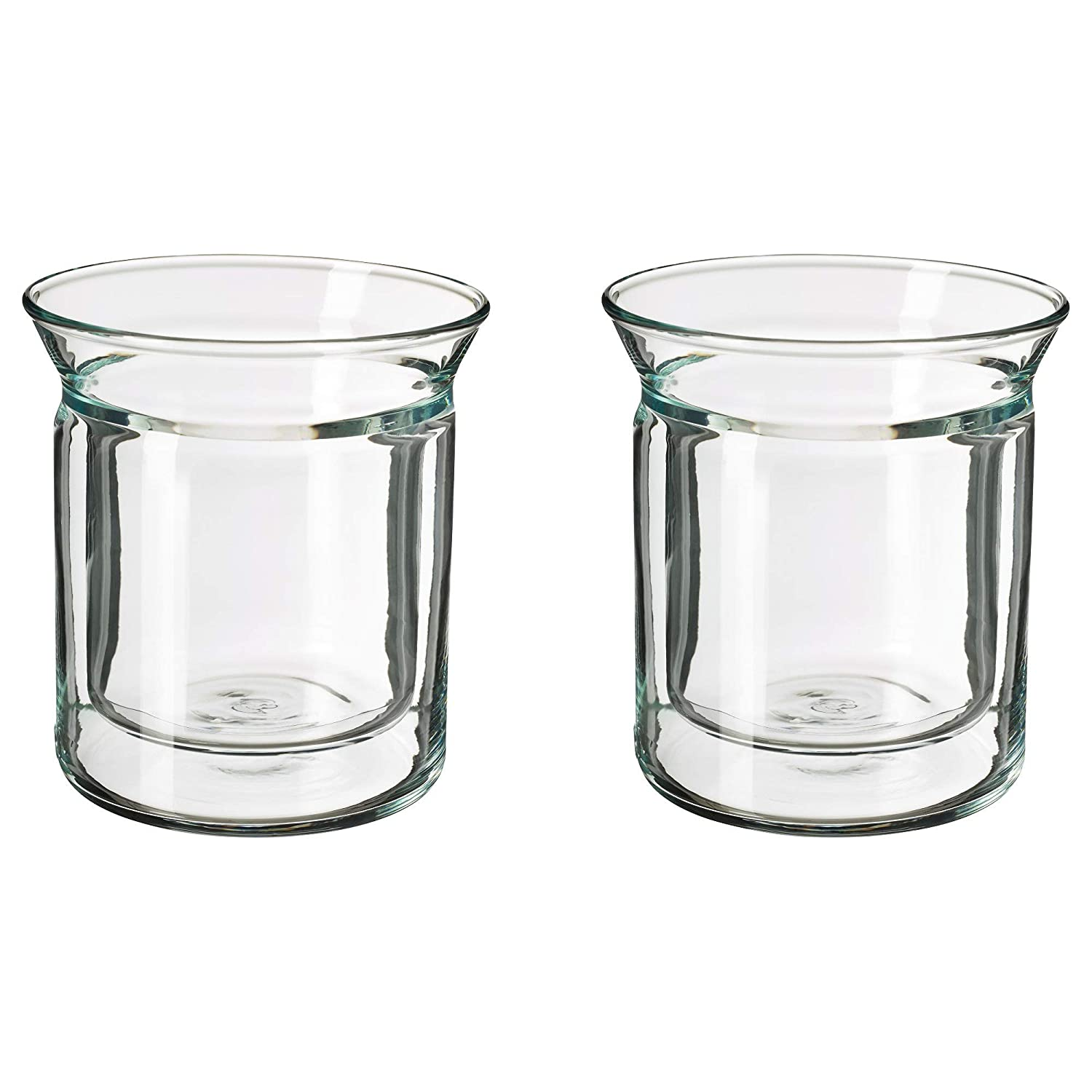 Amazon.com: Ikea 903.589.81 Avrundad - Vaso de doble cara ...