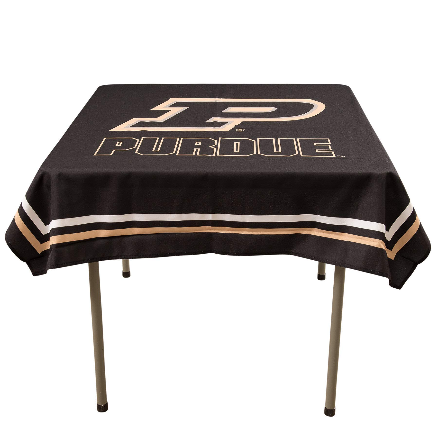 College Flags and Banners Co. Purdue Boilermakers Logo Tablecloth or Table Overlay