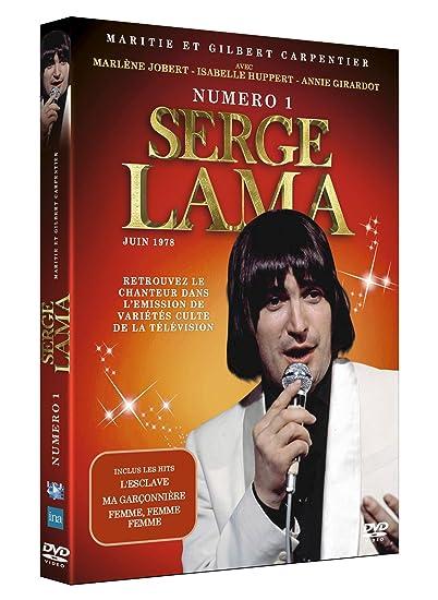 Numéro 1 : Serge Lama