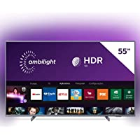 """Smart TV Philips 55PUG6794/78 55"""" 4K UHD AMBILIGHT 3 lados HDR10+ Dolby Vision Dolby Atmos Bluetooth Wifi 3 HDMI 2 USB…"""