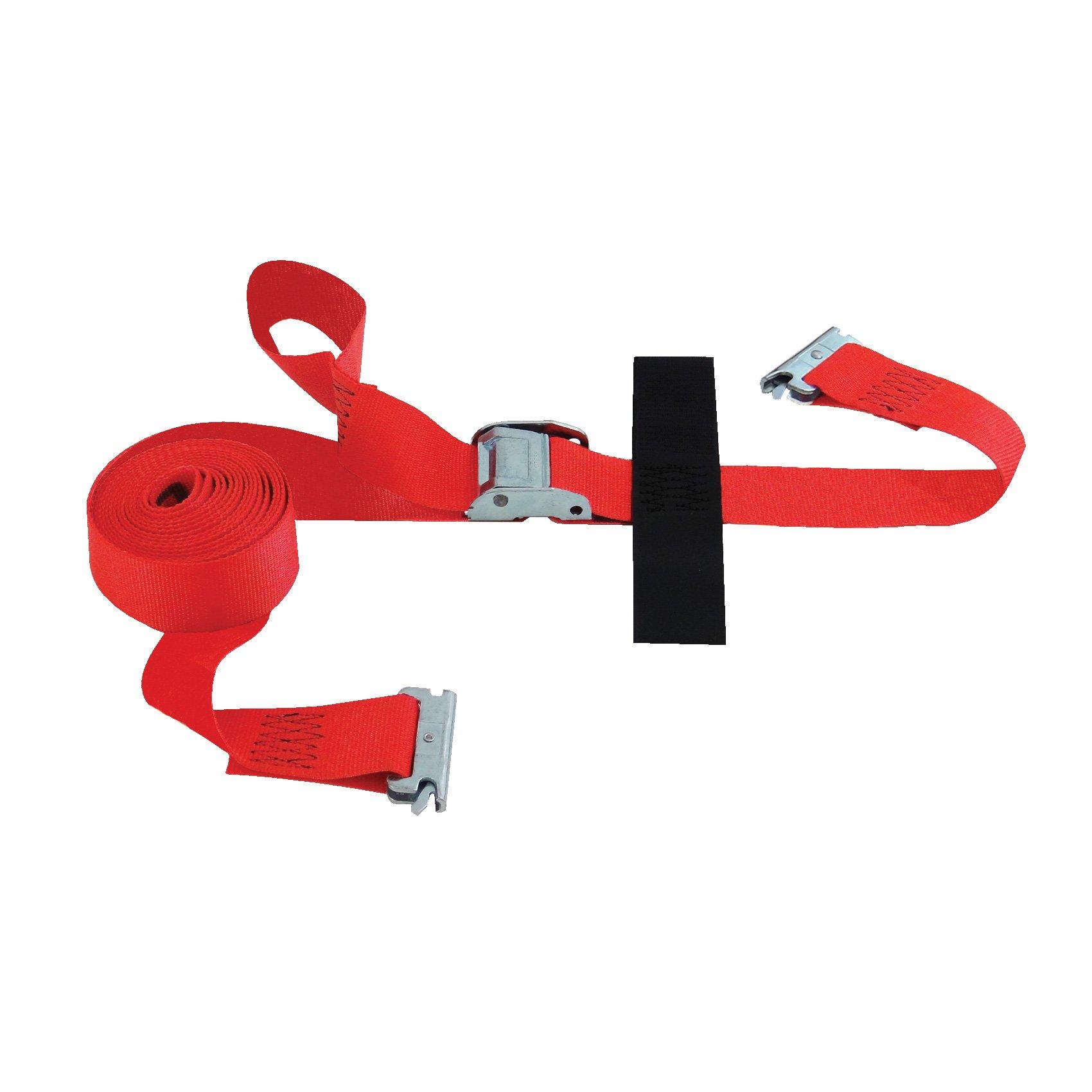 SNAPLOCS E-STRAP 2''x16' CAM (Import) with Hook & Loop storage fastener