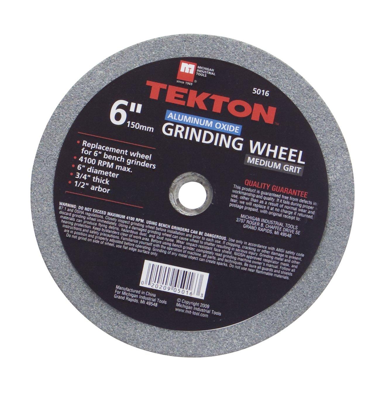 TEKTON 5016 6-Inch Grinding Wheel