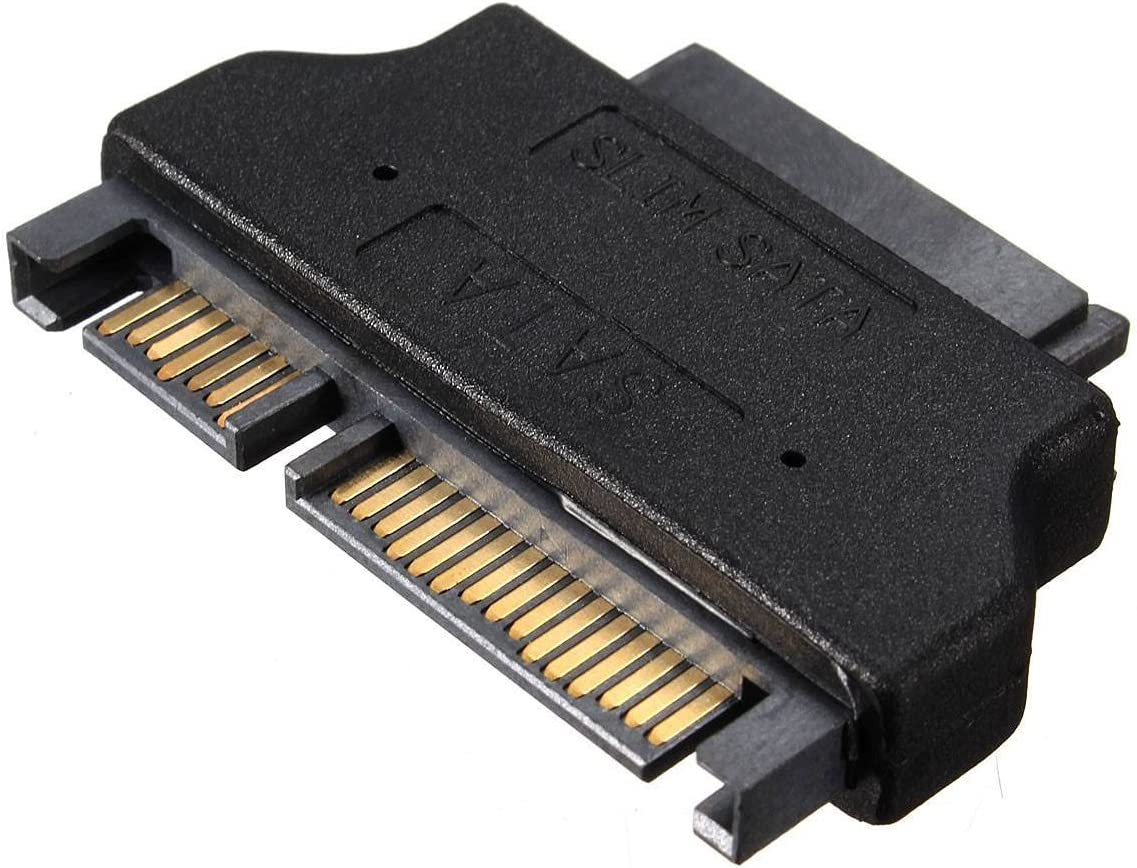 15 22pin Male vers Femelle SATA 7 Adaptateur convertisseur Micro Slim SATA 7 6 Broches 13 Poles Adaptateur convertisseur