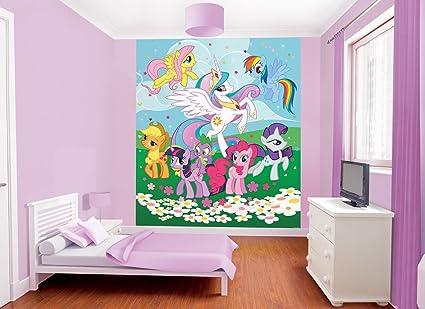 Mon Petit Poney Papier Photo Autocollant Mural Wall Decals